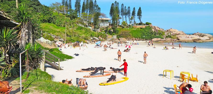 Pousadas na praia da Joaquina Florianopolis