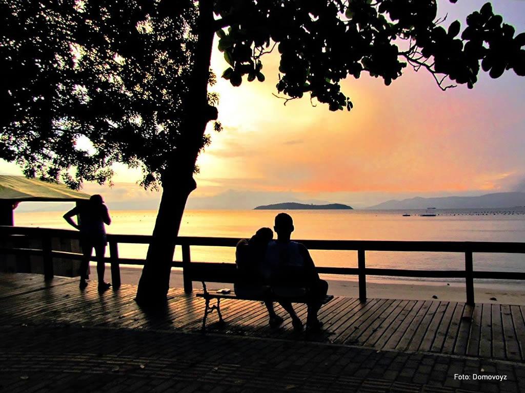 Praia de Sambaqui - Florianópolis - SC